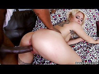 Blonde Cameron Canada gets Her Pussy Smashed by BBC