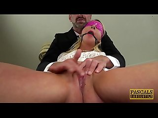 PASCALSSUBSLUTS - Sub Candice Banks gagged and fucked hard