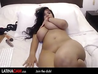 Big Curvy latina finger herself on camera - Latinacam.club