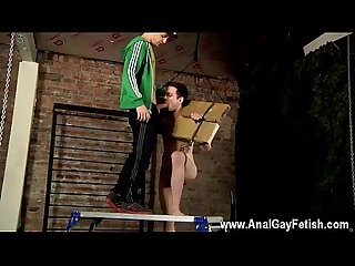 Gay public sex bus movieture gallery image This boy is in the stocks,