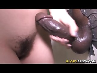 Kristina Rose Interracial Sex At A Gloryhole