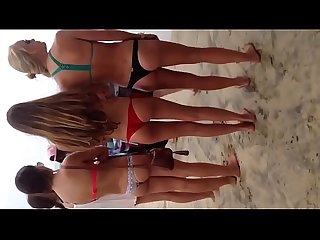 Extended Voyeur Teens - 2 - Three Bikini Teenies