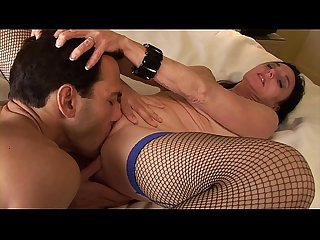 Hot milf loves to take it in her asshole