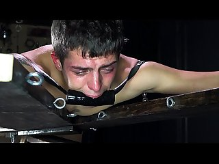 HOT BONDAGE SLAVE BOYS FUCKED BAREBACK & CUM - HARDCORE GAY BDSM - DreamBoyBondage SALE!