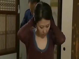 Asian Japanese mom's adultery was seen by her boy and she get blackmailed by him - ReMilf.com