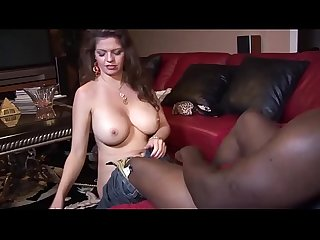 June Summers Lets A Black Man Cum Inside Her Ass