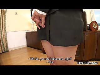 Asian slut receives the best double penetration of her life