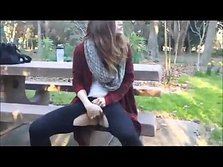 Cute Girl Squirts Outdoors - hotcamgirls247.com