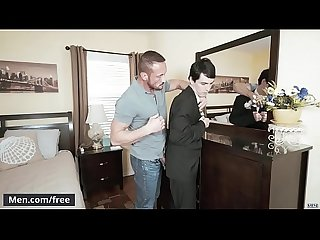 Men.com - (Myles Landon, Xavier Ryan) - Prom Thief - Str8 to Gay - Trailer..