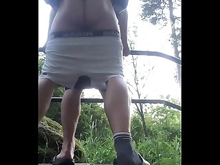 Breeding ass outdoor
