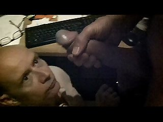 Overtime Office Work - Cum Feeding The Office Whore