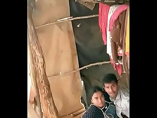 Caught in Indian village sex video