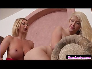 Hot and Mean Busty Lesbians - Banging For Mom's Approval with Leigh Darby & Samantha Rone 0