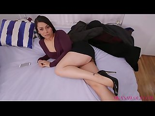 Cheating Brunette Sucks And Fucks Stranger - Meana Wolf - Bad Girlfriend