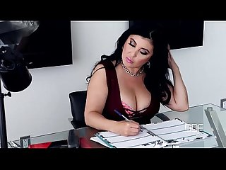 America vs Russia-Big Titty Business Girl Jaylene Rio gets Drilled Hard