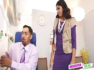 Bring Your Daughter To Work Day - Gigi Flamez And Katalina Mills