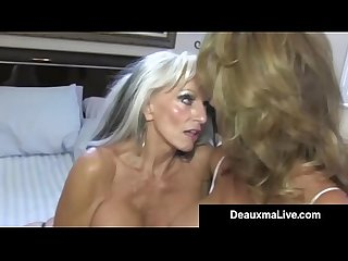 Texas Cougar Deauxma Watches As Sally D?Angelo Bangs Hubby!