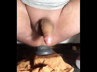 Handless cum compilation while riding toys.
