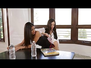 Don't skip the school, naughty girl! - Veronica Rodriguez, Jelena Jensen