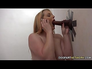 Harmoni Kalifornia Gets A Black Cock At A Glory Hole