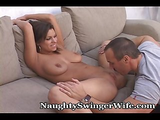 Swinger Wife Has A Sissy For A Hubby