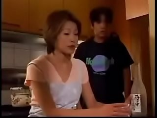 Japanese Milf gets good Fuck