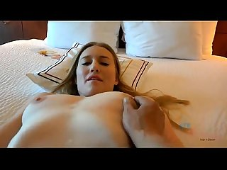 Riley Reyes, Amateur model filmed POV (BJ and Footjob) in a motel room.