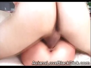 Asian slut gets her twat destroyed with a pervs huge bone