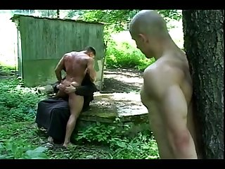 Hot Guys Spanked and Tickled by Grim Reaper