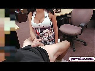 Latina with big tits pnailed by pawn guy