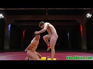Wrestling jock gets punished with assfucking