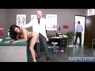 Horny Patient (austin lynn) Get Sex Treatment In Doctor Cabinet mov-05