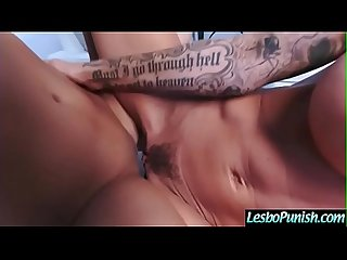 Punish Sex Using Sex Dildos With Lesbian Girls (brandy&darcie) video-13
