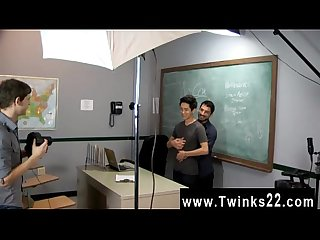 Hot gay scene Just another day at the Teach Twinks office! Jason