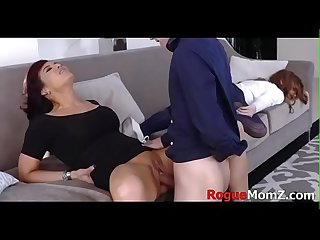 TEACH my GF how to fuck me MOM! Ryder Skye