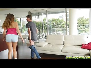 Elena Koshka bonding blowjob step bros big cock