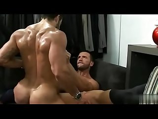 Hunk suits men fucking hard